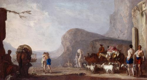 Versöhnung Jakobs mit Esau, c.1634 - c.1635 - Heinrich Schonfeld