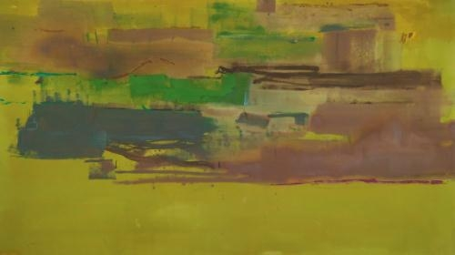 August Deep, 1978 - Helen Frankenthaler