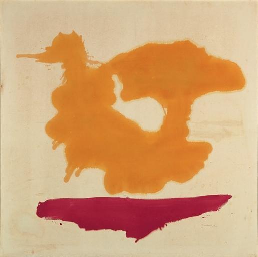 Only Orange, 1963 - Helen Frankenthaler