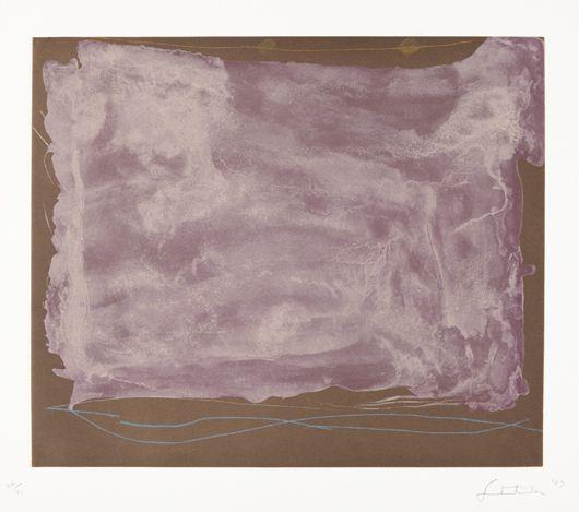 Soho Dreams, 1987 - Helen Frankenthaler
