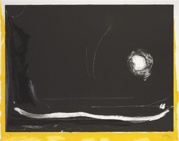 Yellow Jack, 1985 - Helen Frankenthaler