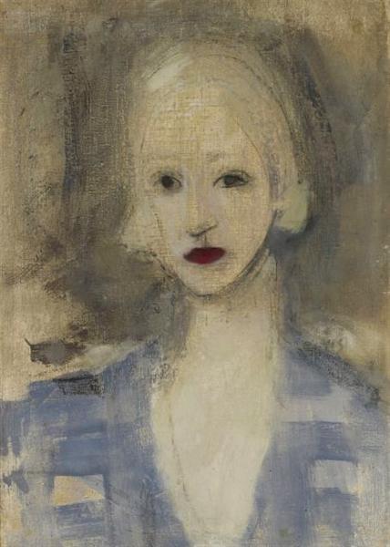 Blond Woman, 1925 - Helene Schjerfbeck