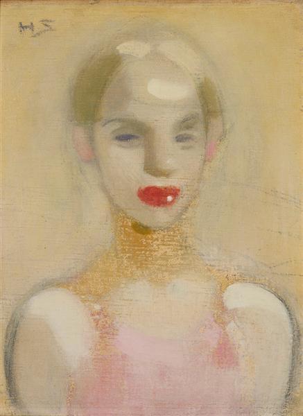 Circus Girl, 1916 - Helene Schjerfbeck