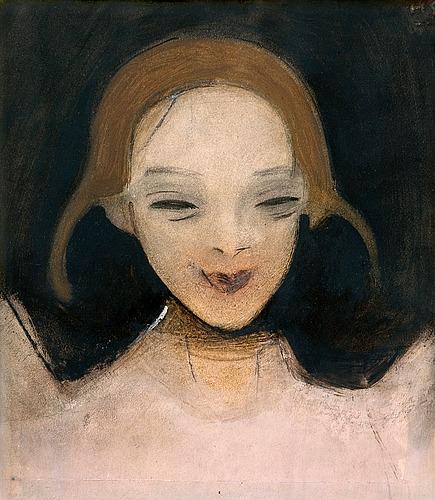 Smiling Girl - Helene Schjerfbeck