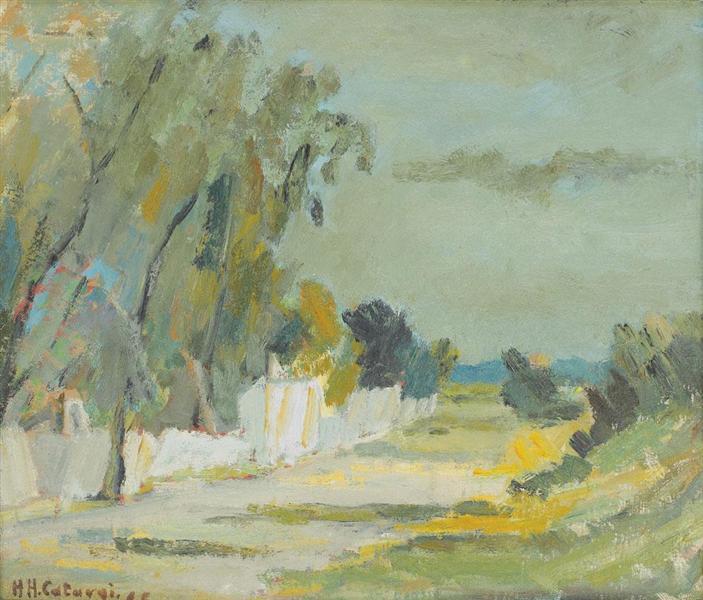 Summer Landscape, 1966 - Henri Catargi