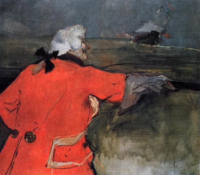 Admiral Viaud, 1901 - Henri de Toulouse-Lautrec
