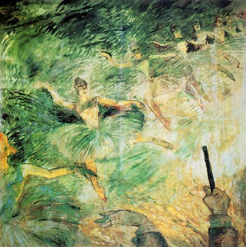 Ballet Dancers - Henri de Toulouse-Lautrec