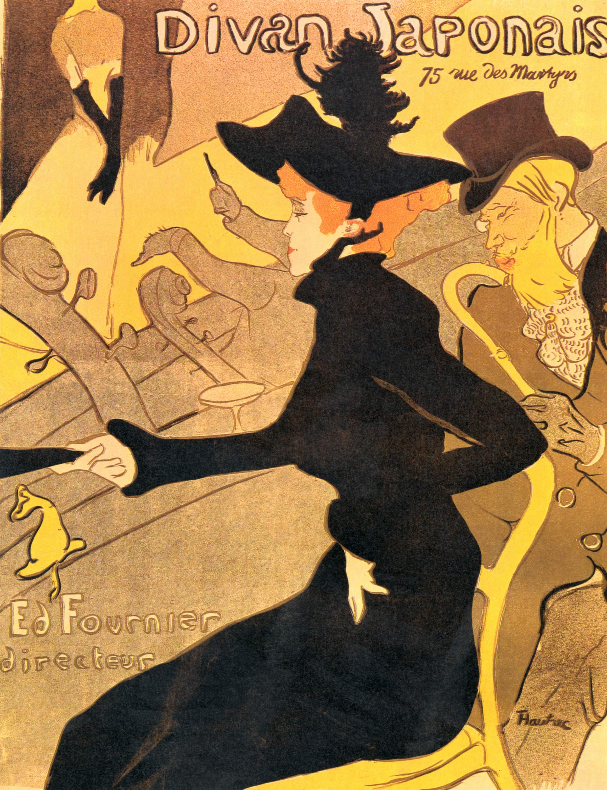 divan japonais 1892 1893 henri de toulouse lautrec