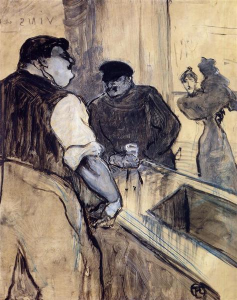 The Bartender, 1900 - Henri de Toulouse-Lautrec