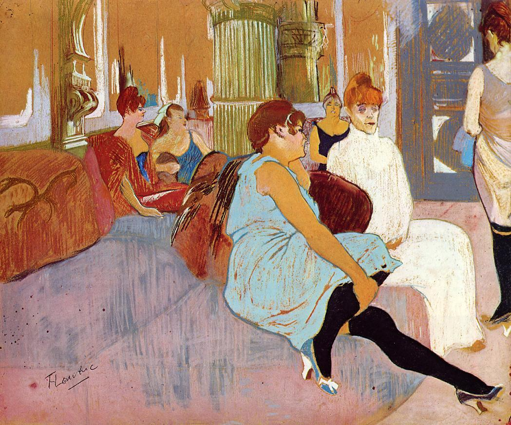 A klasszikus henri de toulouse lautrec for Toulouse salon