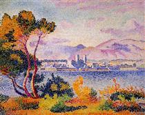Antibes, Afternoon - Henri-Edmond Cross