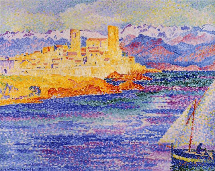 Antibes, 1908 - Henri-Edmond Cross