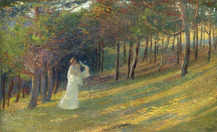 Orpheus in a Wood, 1895 - Henri Martin