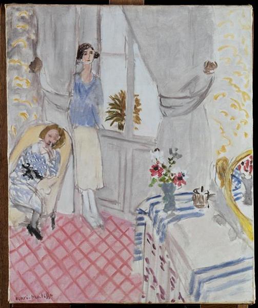 Boudoir, 1921 - Henri Matisse