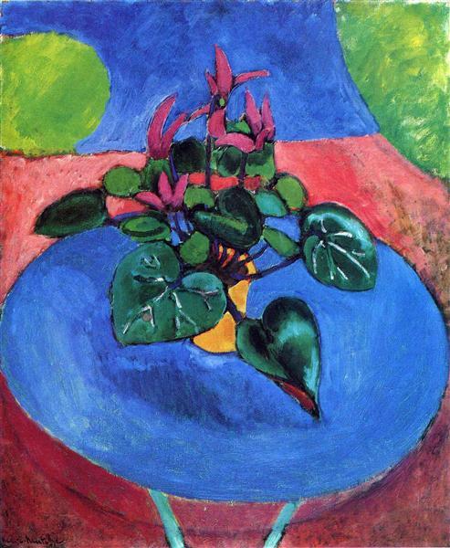 Cyclamen Pourpre, 1911 - 1912 - Henri Matisse
