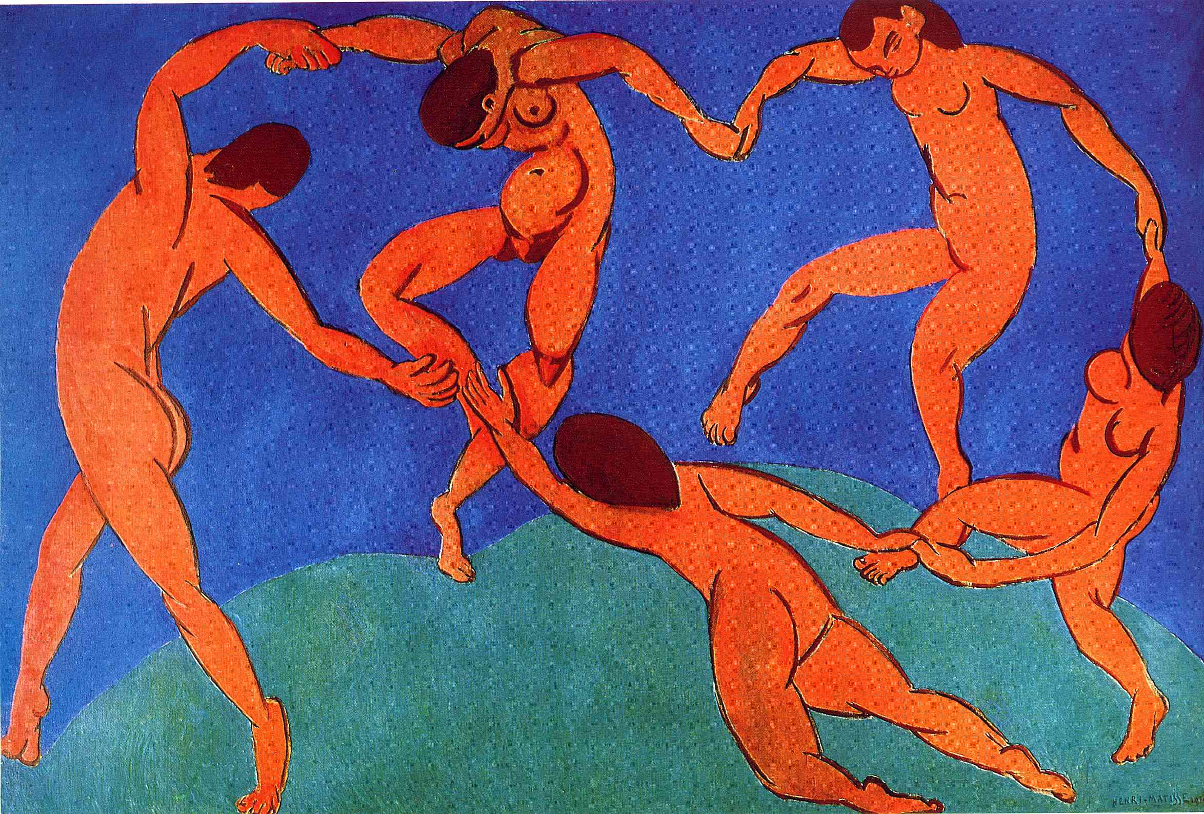 Image result for matisse dancers