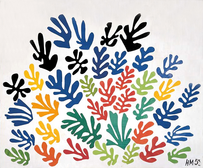 La gerbe, 1953 - Henri Matisse