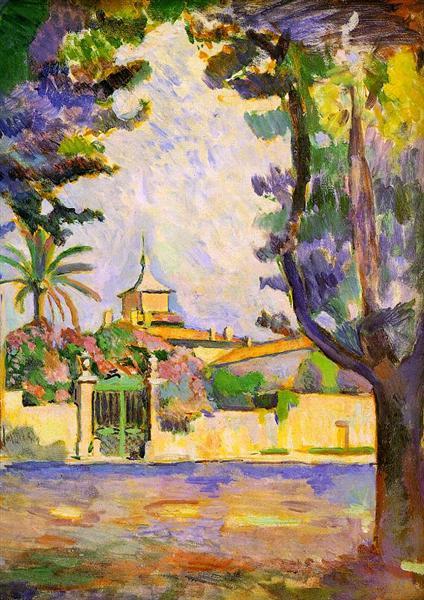 Place des Lices, St. Tropez, 1904 - Henri Matisse
