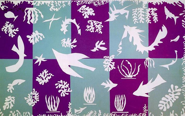 Polynesia, La Mer, 1946 - Henri Matisse