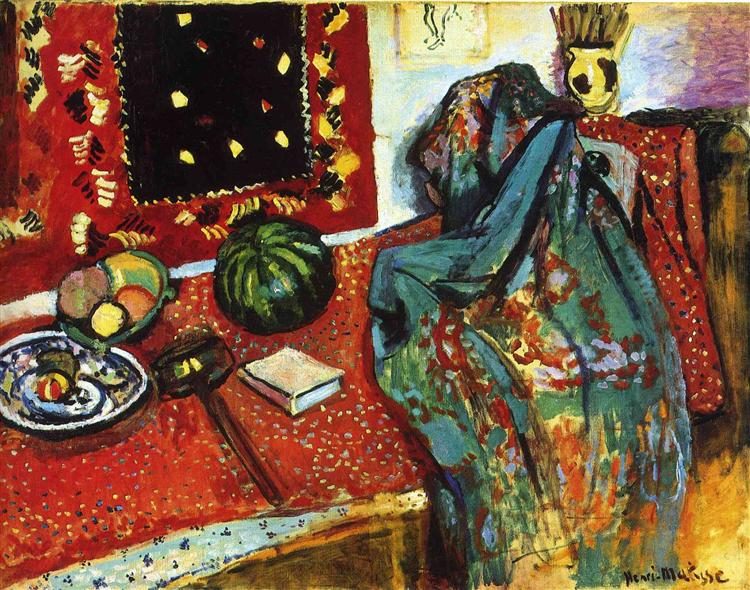 Still Life with a Red Rug, 1906 - Henri Matisse