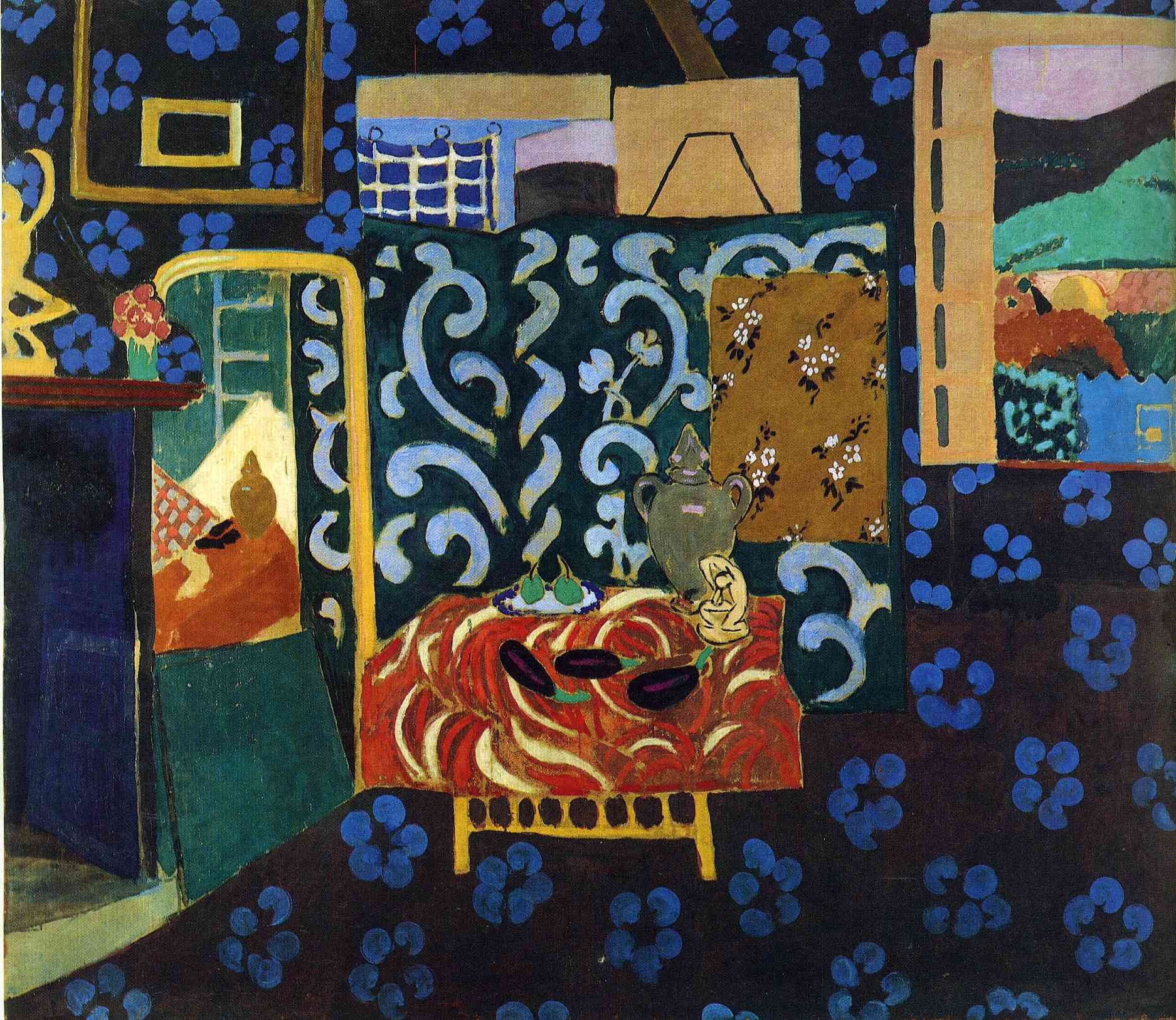 Open window matisse - Still Life With Aubergines Henri Matisse Wikiart Org