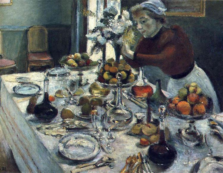 The Dinner Table, 1896 - 1897 - Henri Matisse