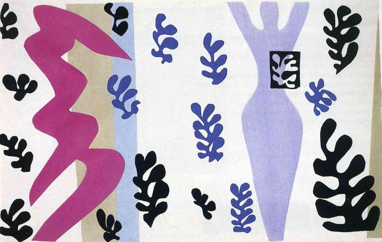 The Knife Thrower, 1947 - Henri Matisse - WikiArt.org