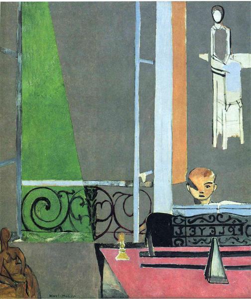 The Piano Lesson, 1916 - Henri Matisse