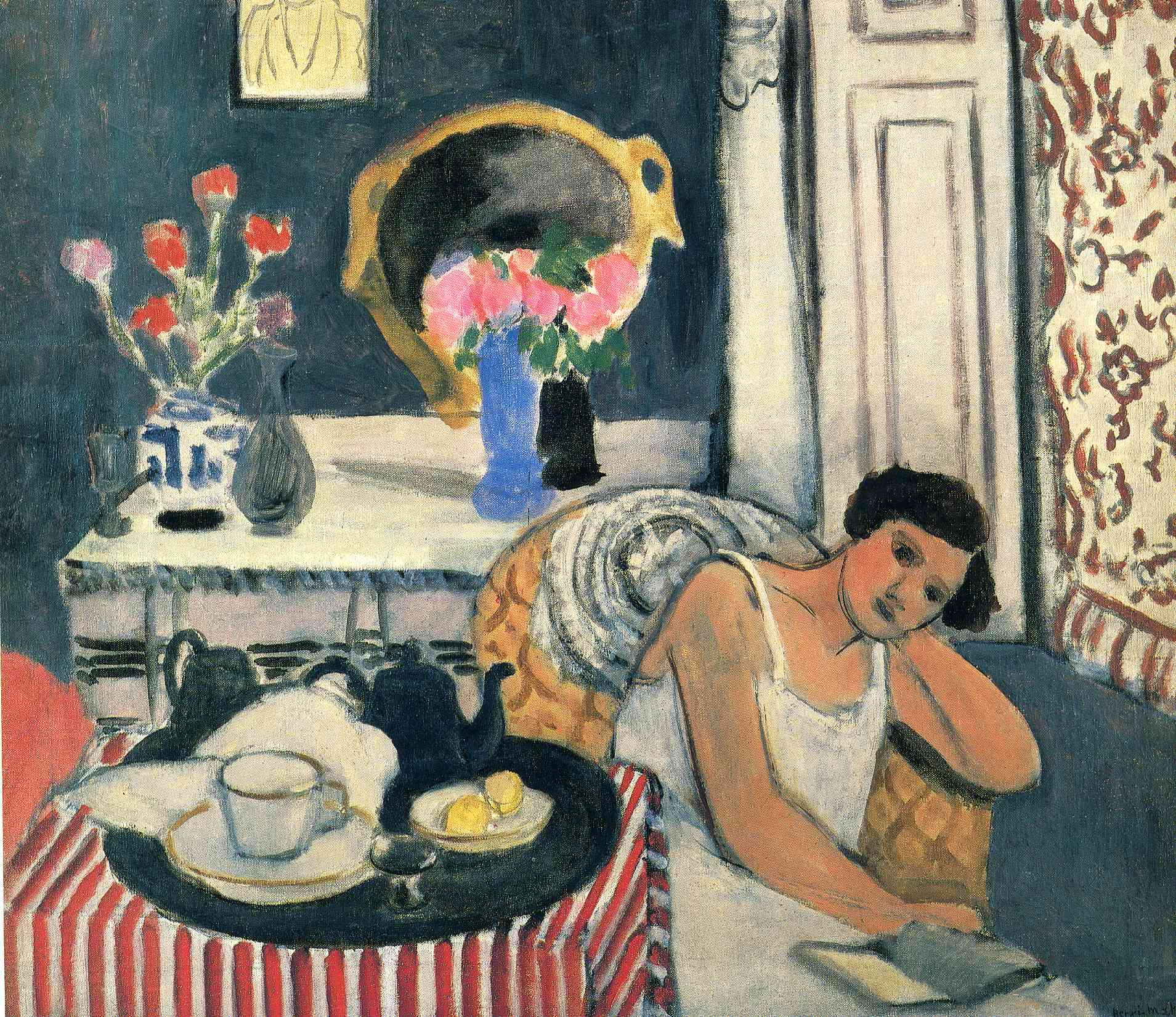 woman reading henri matisse biblioklept. Black Bedroom Furniture Sets. Home Design Ideas