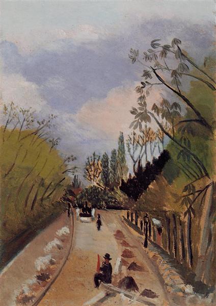 Avenue de l'Observatoire, 1896 - 1898 - Henri Rousseau
