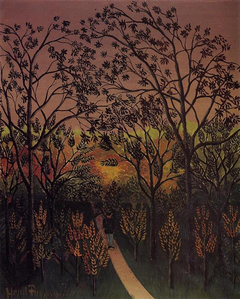 Corner of the Plateau of Bellevue, 1901 - 1902 - Henri Rousseau