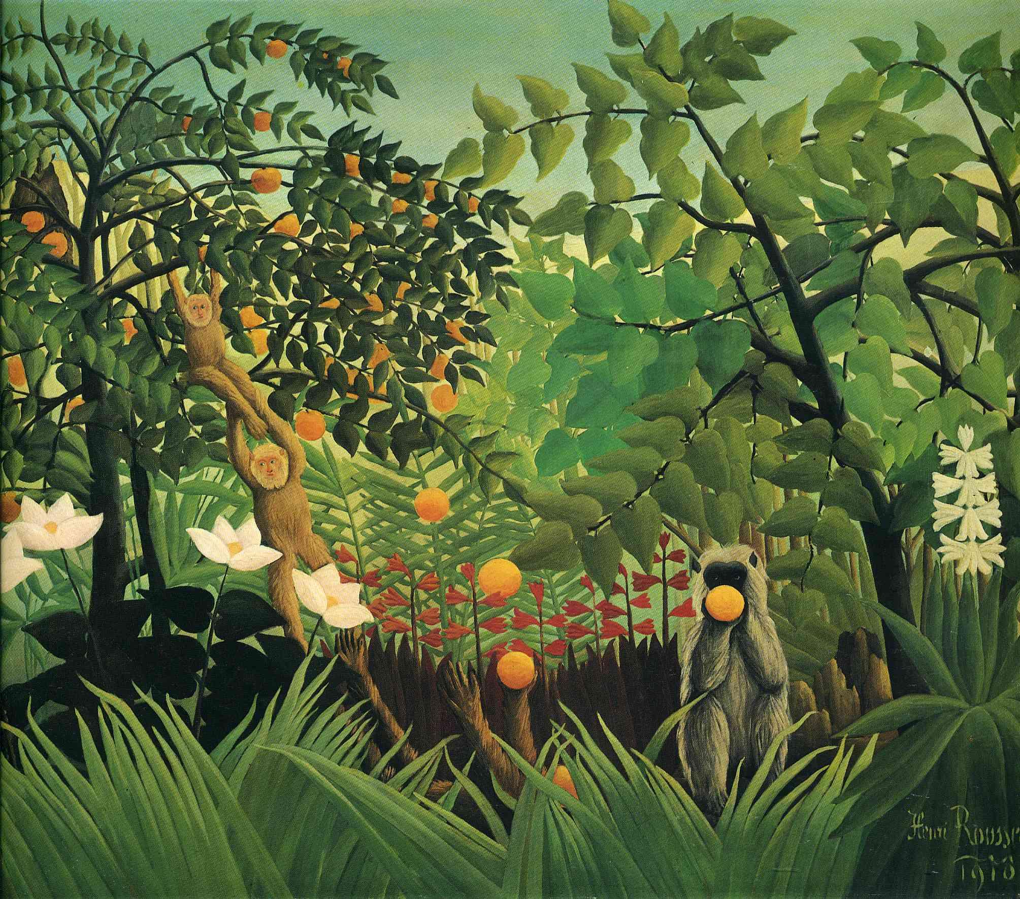 Exotic Landscape, 1910 - Henri Rousseau - WikiArt.org