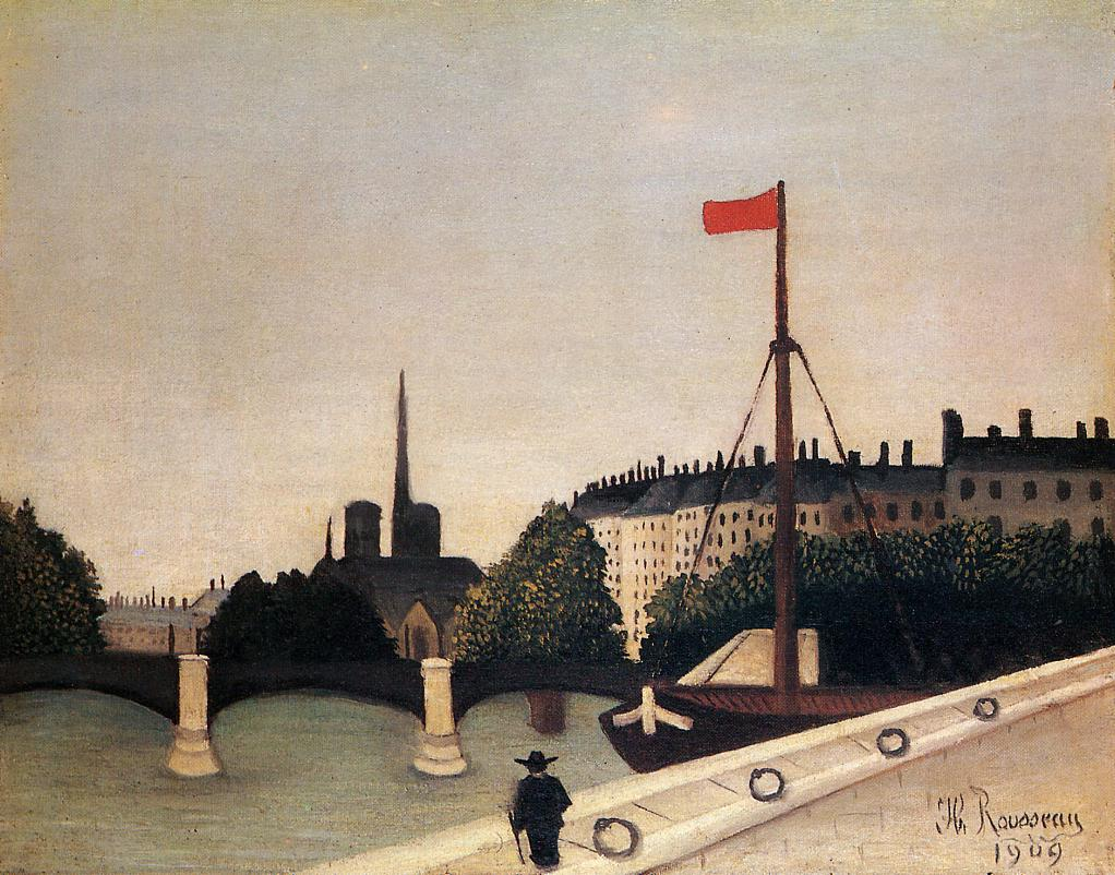 ÚLTIMA EXPOSICIÓN QUE HAS VISTO - Página 8 Notre-dame-view-of-the-ile-saint-louis-from-the-quai-henri-iv-1909