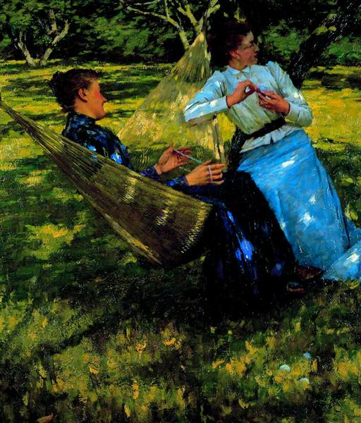 In the Orchard, 1893 - Henry Herbert La Thangue
