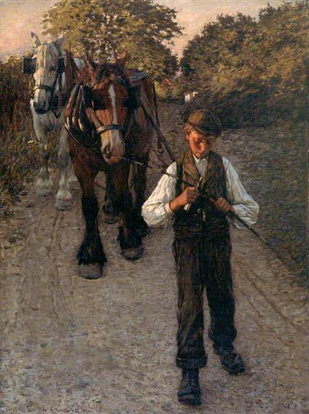 The Plough Boy, 1900 - Henry Herbert La Thangue