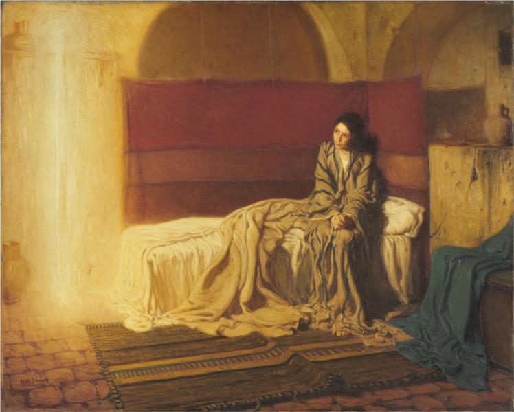 The Annunciation, 1898 - Henry Ossawa Tanner