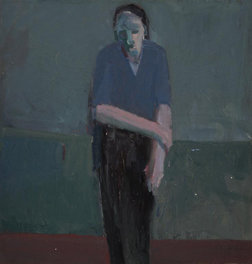 Figure in Green Room - Henry Villierme