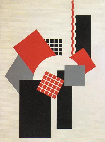 Mechano-Facture, 1953 - Henryk Berlewi