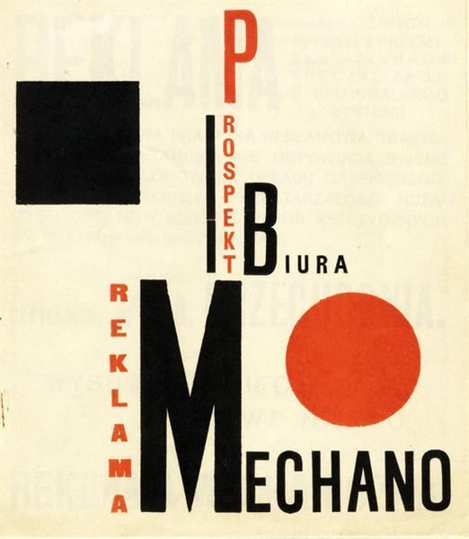 Reklama Mechano - Henryk Berlewi