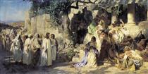Christ and Sinner - Henryk Siemiradzki