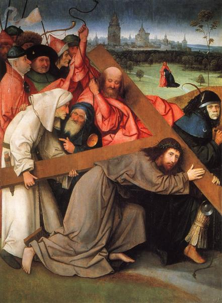 Christ Carrying the Cross, c.1505 - Hieronymus Bosch