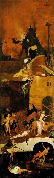 Haywain (detail), c.1485 - c.1490 - Hieronymus Bosch