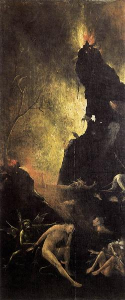 Hell, 1500 - 1504 - Hieronymus Bosch
