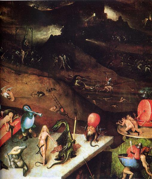 The Last Judgement (detail), c.1482 - Hieronymus Bosch