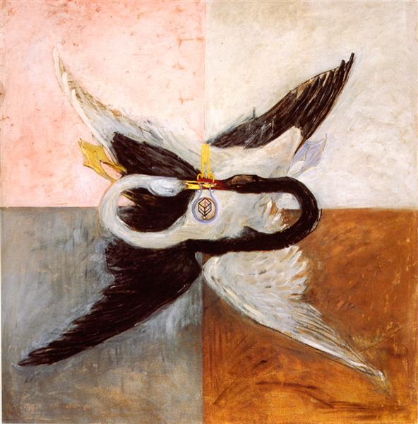 Svanen, 1914 - Hilma af Klint