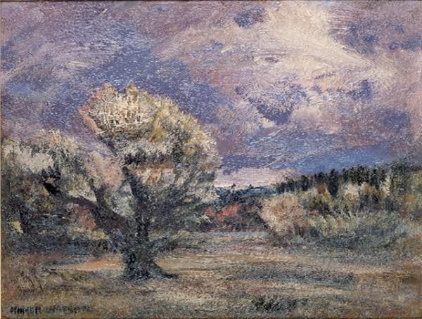 Pink Bush, 1906 - Homer Watson