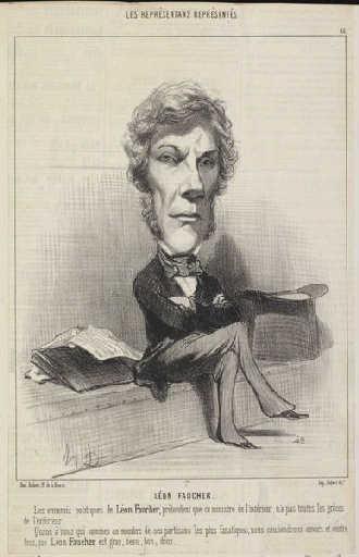 Léon Faucher, 184...