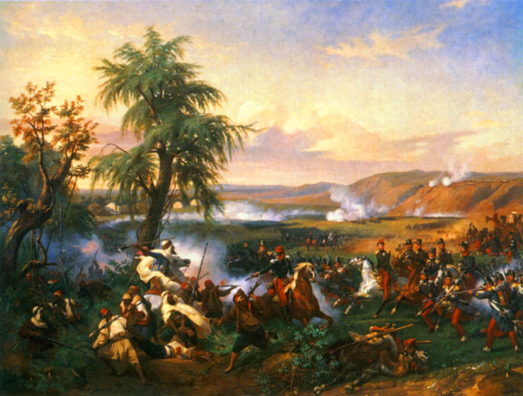 The Battle of Habra, Algeria, December 1835, 1840 - Horace Vernet