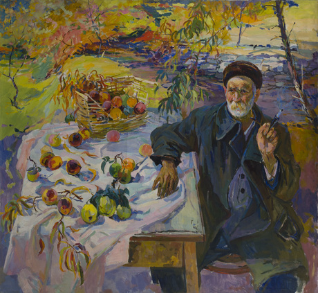 Portrait of Artist Father - Hovhannes Zardaryan