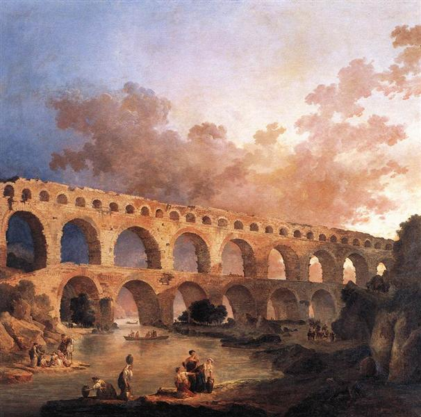 The Pont du Gard - Robert Hubert